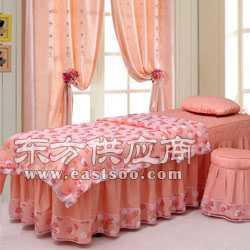 美體按摩熏蒸床罩美容院四件套 可愛公主粉色圖片