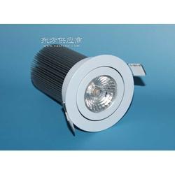 COB壓鑄筒燈射燈外殼10W、12W新款集成天花燈套件圖片