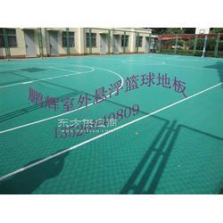 室外羽毛球场地拼装地板图片