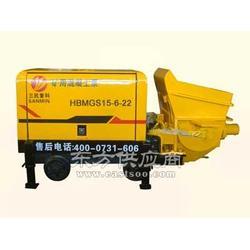 小型煤矿用输送设备 矿用混凝土泵图片