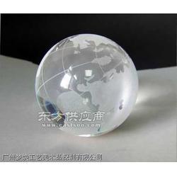 供应水晶地球仪时来运转摆件水晶球工艺品定做图片
