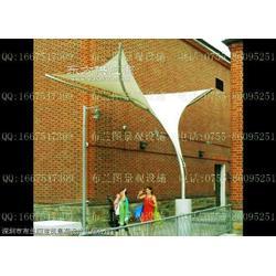 布兰图园林景观张拉膜遮阳伞图片