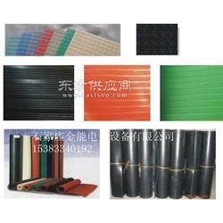 绝缘胶垫技术参数标准比重高 红黑绿多色绝缘胶垫图片