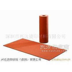 供应进口耐高温带铝芯烫金硅胶轮图片