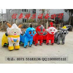儿童毛绒电动车-动物毛绒电瓶车小动物电动车图片