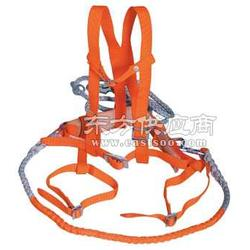 欧式双绳双大钩五点缓冲式安全带图片