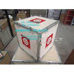 钢边木箱 钢扣箱图片