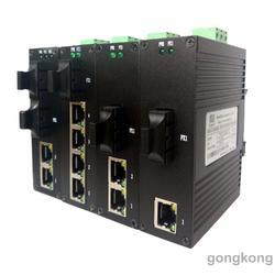 讯记科技5口百兆工业光纤交换机