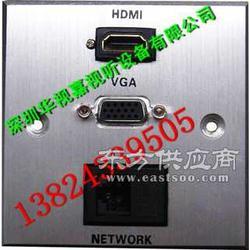 专业生产销售高品质86型多媒体墙面插座图片