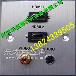 86型铝拉丝墙面插座 长期生产墙壁信息插座图片
