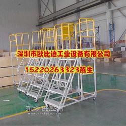 移动登高梯 登高梯厂家 工厂专用登高梯图片