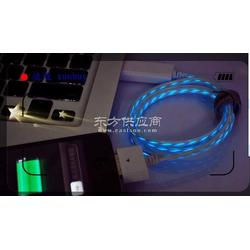 厂家供应苹果发光可视充电数据线图片