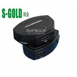 厂家低价HDMI高清切换器2切1图片