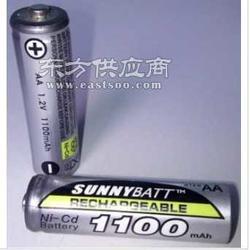 GP超霸代工厂出品AA5号镍镉充电电池1100mah图片