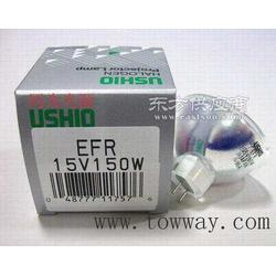 日本USHIO JCR 15V150W EFR光学杯泡图片