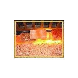 巖鹽燈 鹽礦燈 石頭燈 鹽化石 化石燈 聚寶盆鹽石燈圖片