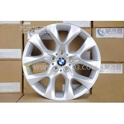 宝马X5原厂轮毂戴卡加装铝合金轮毂图片