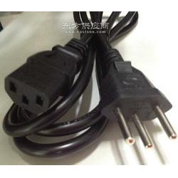 瑞士电源线标准插头陪品字尾电源线图片