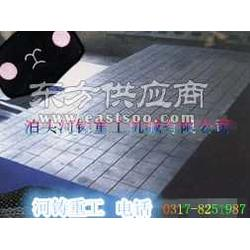 铸铁平板平台T型槽铸铁平板的表面工艺处理方法图片