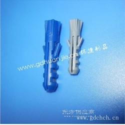 环捷最新款式带六角膨胀管塑料膨胀胶粒膨胀墙塞图片