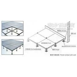 抗静电地板防静电高架活动地板网络机房地板图片