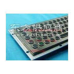 不锈钢工业键盘全金属制造带轨迹球鼠标防尘防水图片