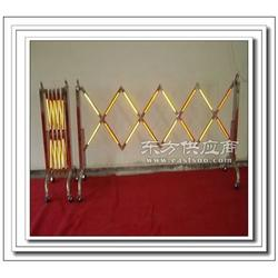 工厂销售伸缩式不锈钢安全围栏图片
