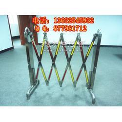 专业生产电力设施专用不锈钢伸缩护栏、折叠围栏图片