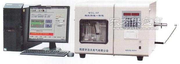 WDL-6F型微机快速一体硫图片
