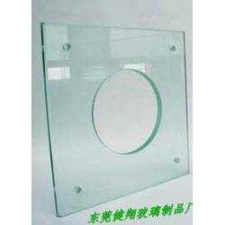 钢化玻璃深加工健翔玻璃厂图片