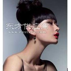 韩国汤氏风格透气真发假发与服装搭配的方法图片