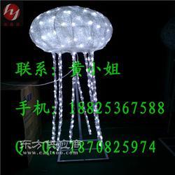 圆头LED水母造型灯图片