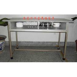 员工宿舍用桌子-公司员工铁皮柜-工厂宿舍配套家具图片