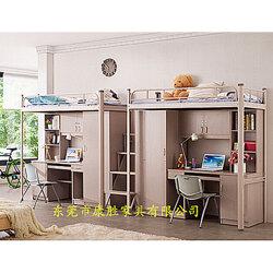 可定制大學生公寓組合床廠家直銷價圖片