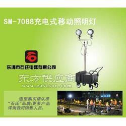道路施工照明灯全方位升降工作灯充电式移动照明车图片