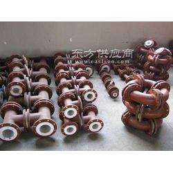 钢衬四氟管业增味剂生产用腐蚀性介质输送首选管道图片
