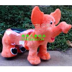 亮亮毛绒电动车玩具 投币广场投资儿童游乐设备 小型小飞象L23图片
