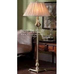 全铜落地灯玻璃焊锡灯欧式全铜灯具图片