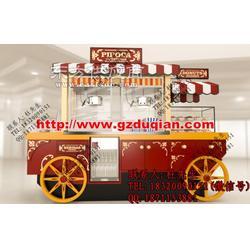 生产供应商厂家实木售货车,售货亭品牌图片