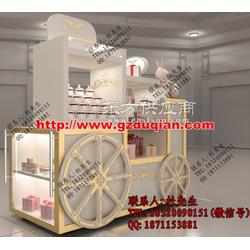 厂家木制售货车图片
