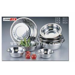 不锈钢餐具制品厂 D5不锈钢盆系列销售图片