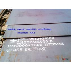 8毫米厚的65Mn钢板现货定尺切割图片