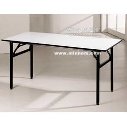 条形会议桌尺寸条形培训桌宴会折叠桌图片