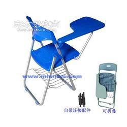 折叠培训椅带写字板折叠椅可折叠培训椅图片