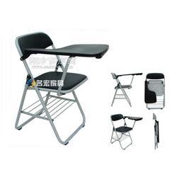 折叠式培训椅培训椅子写字板折叠椅图片
