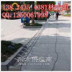桂丰自行车停放架为自行车热排忧解难图片