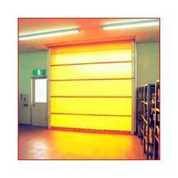 pvc安全防护卷帘门图片