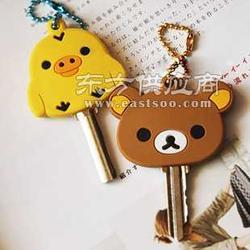 热供 轻松熊钥匙套 PVC软胶钥匙套图片