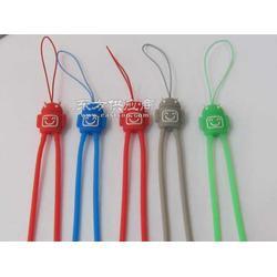 供应 硅胶手机绳硅胶手机吊绳手机挂绳图片