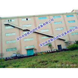 二三四楼仓库上下货滑梯卸货滑道图片